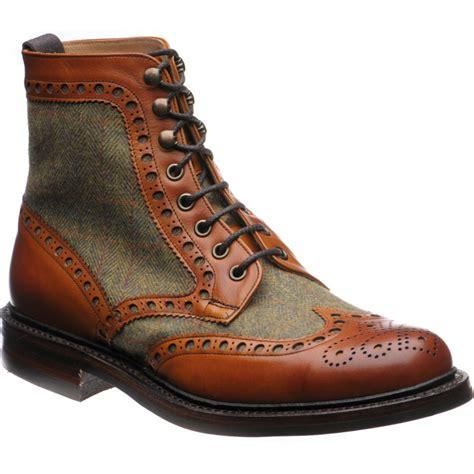 herring shoes herring premier exmoor tweed brogue