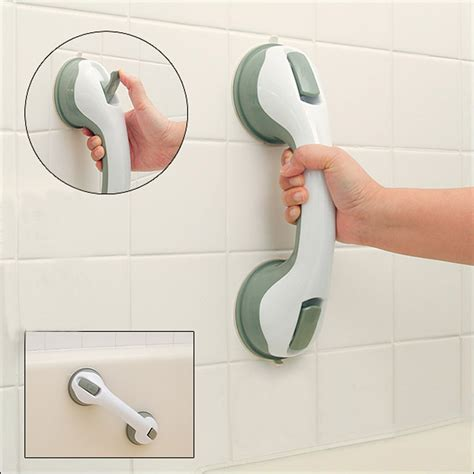 Bathtub Accessories For Elderly by Safer Strong Sucker Helping Handle Grip Handrail For