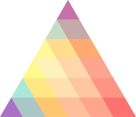 triangle pattern png free vector graphic triangle ornament colors free