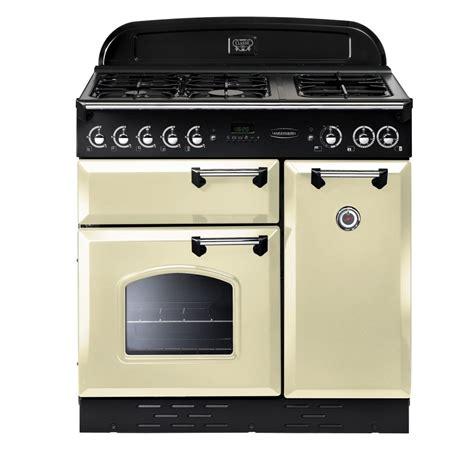 old range rangemaster classic 90 lpg gas range cooker cream and