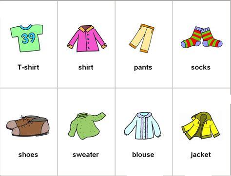 imagenes en ingles y su significado en español imagenes de ropa deportiva en ingles para ense 241 ar