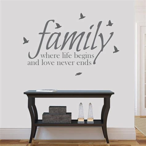 family wall sticker where beings never ends family wall sticker