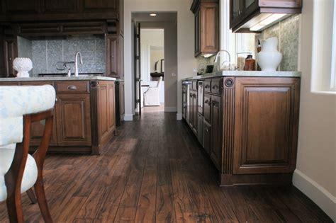 Vienna Biola Laminate 1 4 Brown hickory wood floors black walnut kitchen countertops