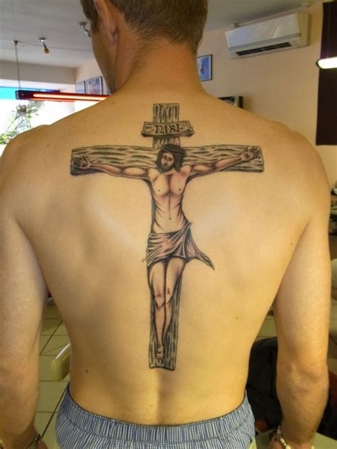 custom tattoo designs for men 25 crucifix designs for