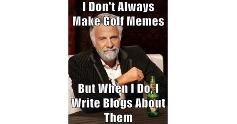 the funniest golf memes you'll ever see! golf blog