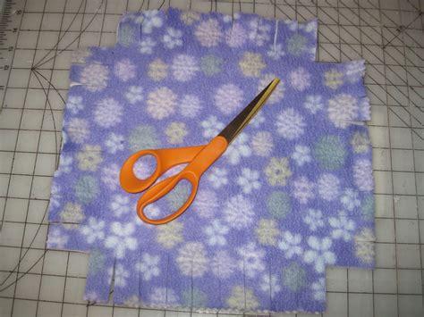 No Sew Fleece Pillow by The Secret Closet S Home Sewing Classes No Sew Fleece