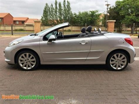 peugeot south africa 2009 peugeot 207 cabriolet used car for sale in