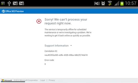 Office 365 Home Portal Login Lets Exchange Office 365 Portal Login Error On Mobile Devices
