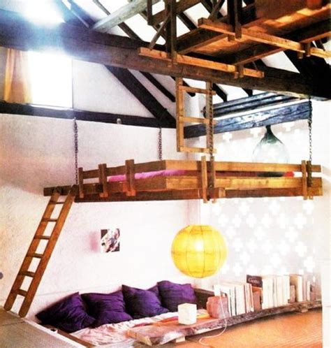 ceiling suspended loft beds interior designs 25 hanging bed designs floating in creative bedrooms