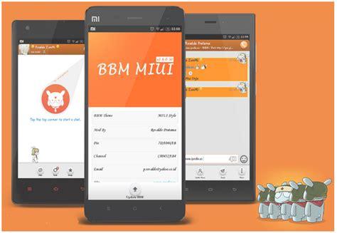 theme miui v2 new update bbm mod miui theme v2 8 0 21