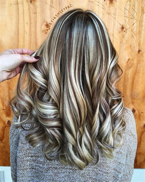 brunette with blonde highlights for women 50 and over 50 light brown hair color ideas with highlights and lowlights