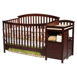 Crib With Changing Table Delta Houston Crib And Changer Kmart