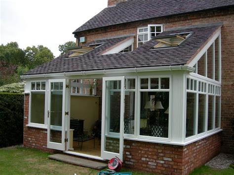 tiled roof hardwood conservatory sunroom designs