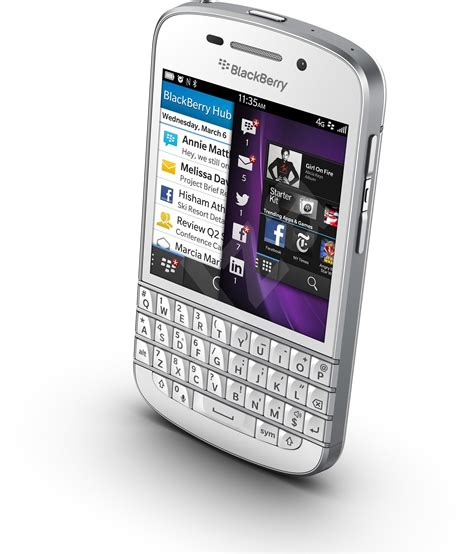 Blackberry Q10 Blackberry10 Touchqwerty Smartphone With All The Bonus blackberry q10 qwerty white mobile phone alzashop