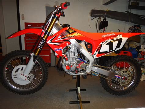 works motocross bikes winter project home built quot works bike quot moto related