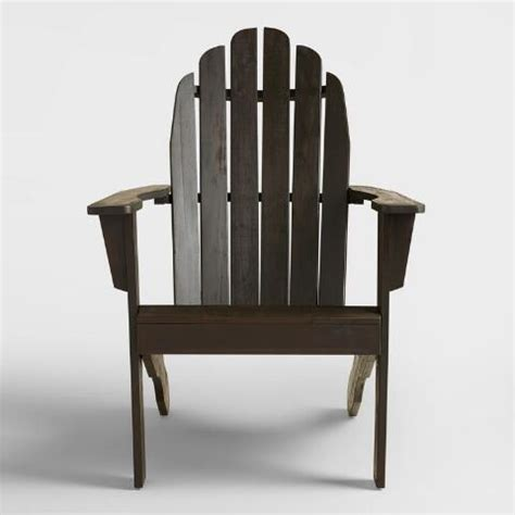 World Market Caign Chair by Espresso Adirondack Chair World Market