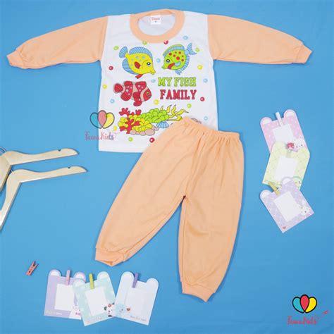 Baby Doll Piyama Baju Tidur Celana Panjang 6733 Cp baju tidur size 2 tahun piyama kaos kartun anak celana panjang laki perempuan baju tidur