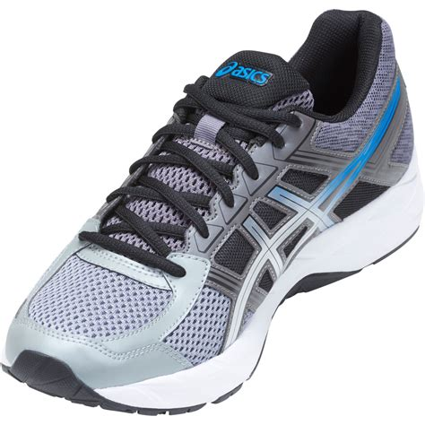 asics gel contend 4 mens running shoes carbon silver sportitude