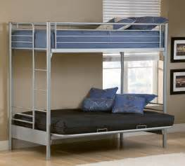 bunk beds with on bottom bunk bed with futon on bottom top photo resource