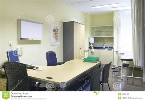dr room hospital doctor room with equipment and desk stock photo image of care technology 40489426