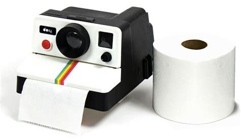 How To Make Paper Gadgets - polaroid toilet paper dispenser craziest gadgets