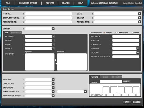 ui design mockup software gui graphical user interface by alan oliveros at