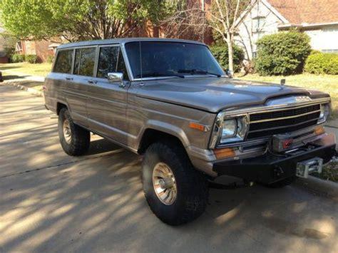 Find Jeep Grand Find Used 1986 Jeep Grand Wagoneer 4x4 Trail Dominator