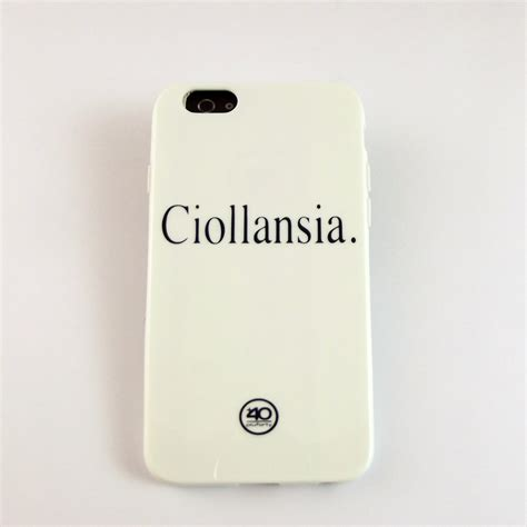 Cover For Iphone cover iphone ciollansia ditta braschi