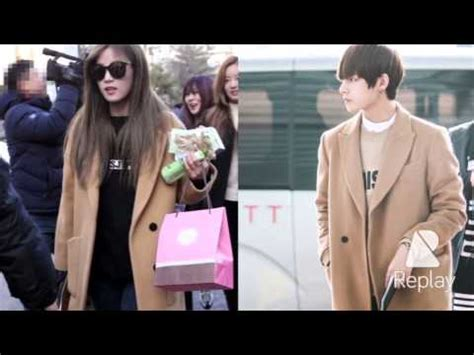 part1: apink's park chorong & bts's kim taehyung couple
