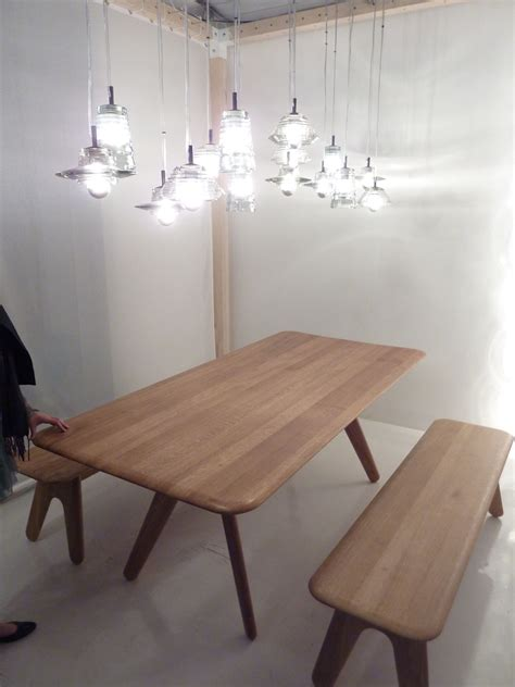 tom dixon bench slab bench natural lacquer by tom dixon