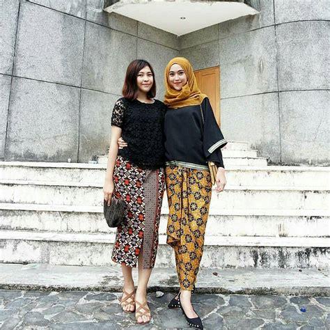 Baju Atasan 12 contoh model baju batik muslim atasan untuk wanita modern