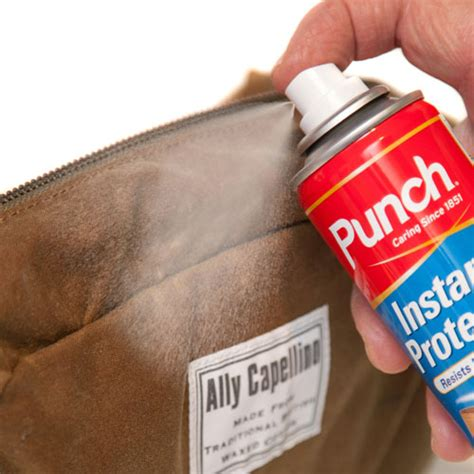 punch instant protector suede leather nubuck canvas