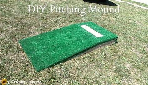 diy pit cing a creative princess diy pitching mound a creative princess to be crafting and