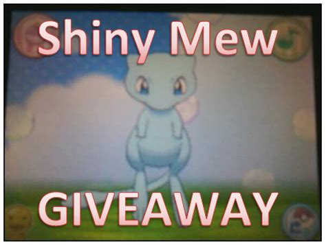 Pokemon Xy Giveaway - pokemon giveaway mew pokemon giveaway pokemon x pokemon y shiny mew shiny pokemon