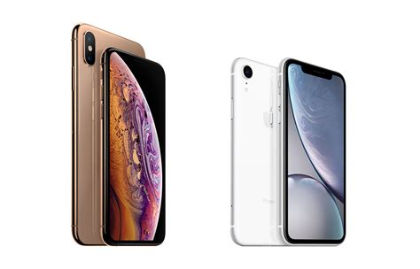 comparing  iphone xs iphone xs max  iphone xr