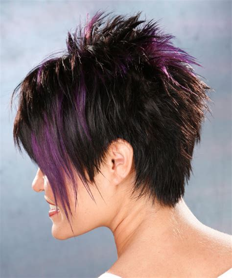 back view of short spikey hair cuts for women short spiky hairstyles back view hairstylegalleries com