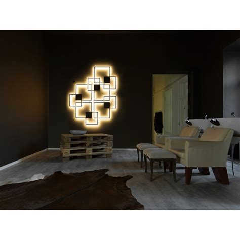 Halo Wall Mural wever and ducr 233 venn 1 0 et 2 0 applique 224 eclairage led