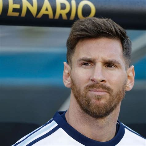 argentina hairstyle argentina captain lionel messi shifts focus to copa