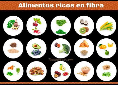 alimentos fibra la fibra esencial para el organismo