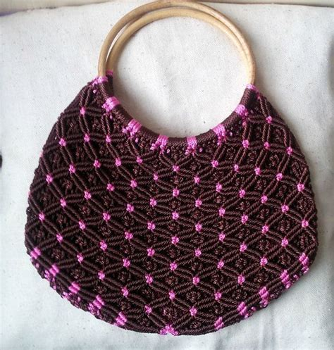 How To Macrame A Purse - 154 best images about macrame bags on