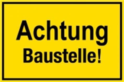 Baustellenschild Licht by Baustellenschild Achtung Baustelle Schilder Drucken De