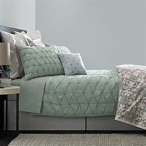 real simple coverlet real simple 174 camille coverlet bed bath beyond