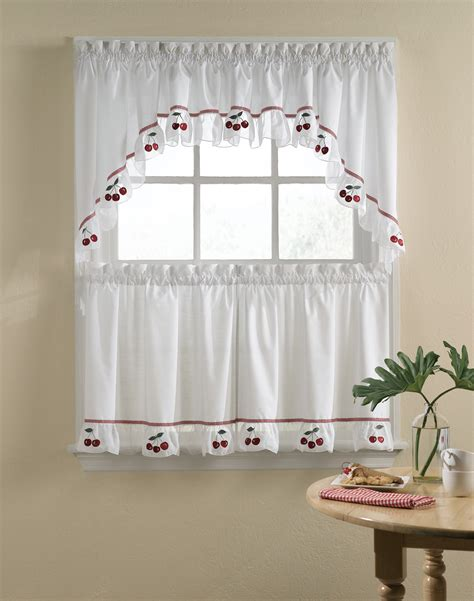 Cherry Kitchen Curtains Cherry Kitchen Curtains Kitchen Ideas