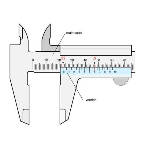Dekko Caliper 8 Inch Analog understanding a vernier caliper