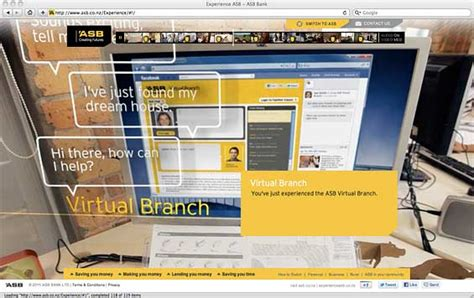 asb bank website show and tell switch and sell