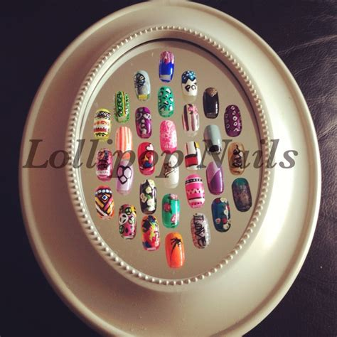 Nail Display by 1000 Images About Nail Display Ideas On