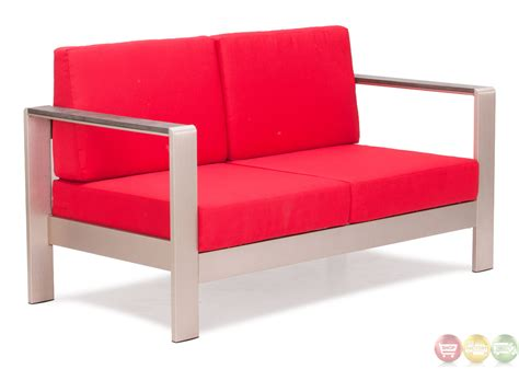 red couch cushions cosmopolitan red sofa cushions zuo modern 701853 modern