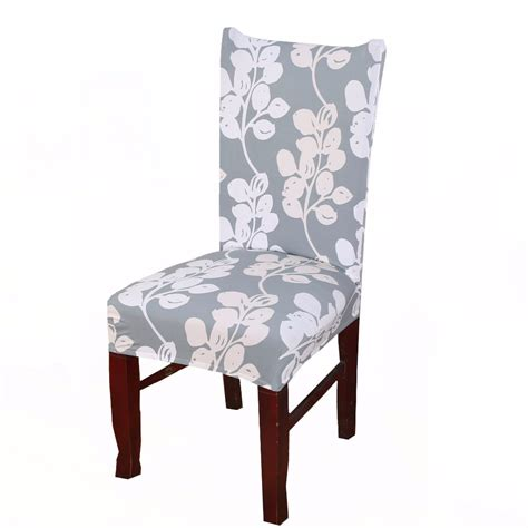 comwarm modern dining room elastic spandex polyester chair