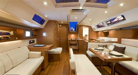 Kitchen Floor Plans With Islands beneteau oceanis 54 istion sailing greece