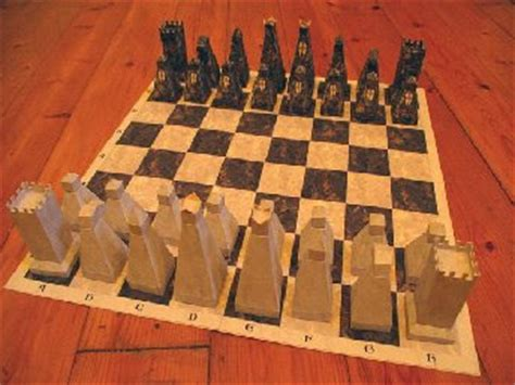 Papercraft Chess - papercraft world papercraft chess board plus pieces